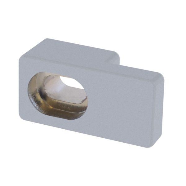 uchwyt szyby stałej 5 mm wysoki