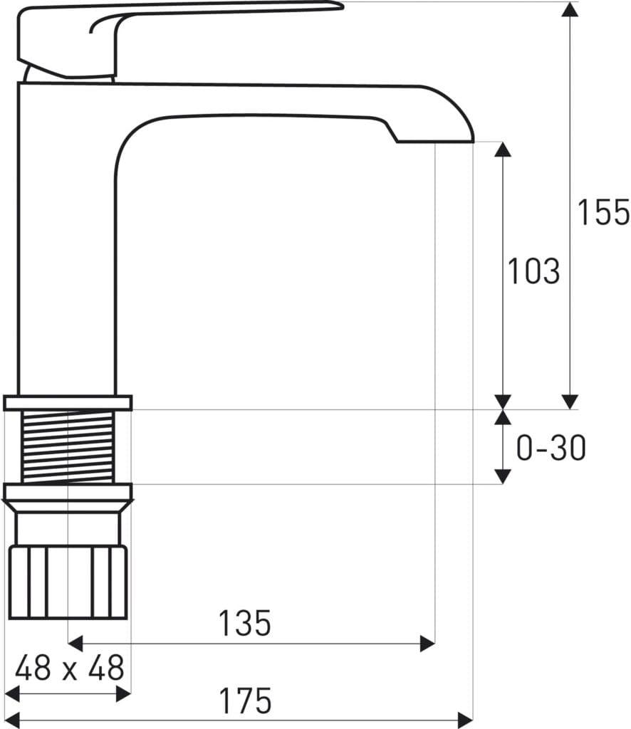Dokładne wymiary baterii Loge Maroko