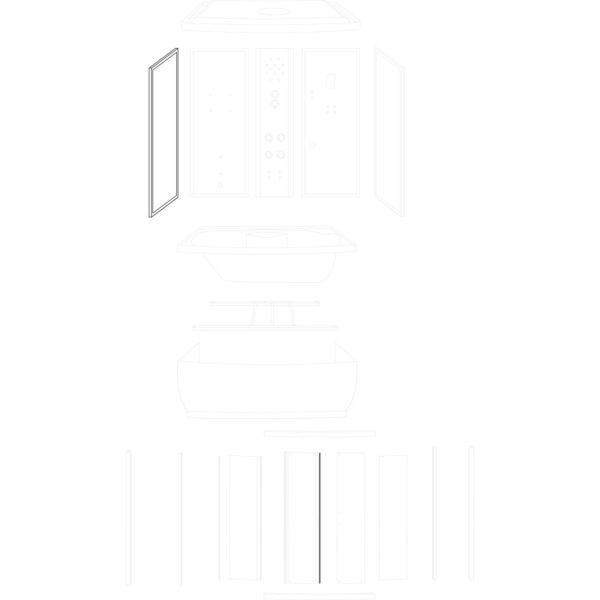 ścianka boczna Laguna/Roma 150