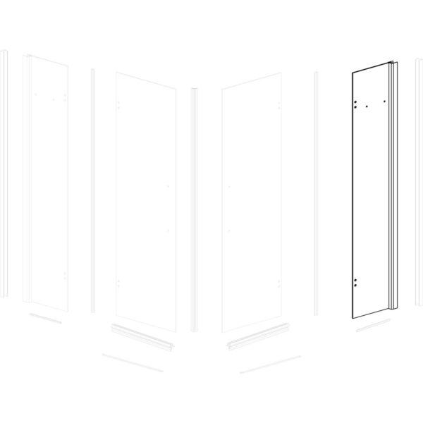 ścianka przednia prawa Siesta