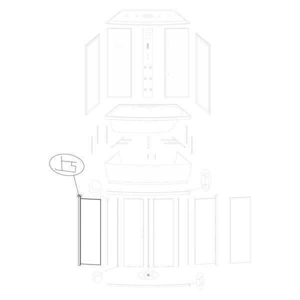 Ścianka przednia lewa Lena 150/ST