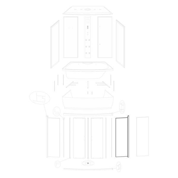Ścianka przednia prawa Lena 150/ST