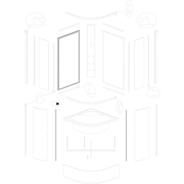ścianka tylna lewa IVO/Presto 90