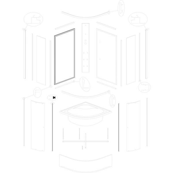 ścianka tylna lewa IVO 80
