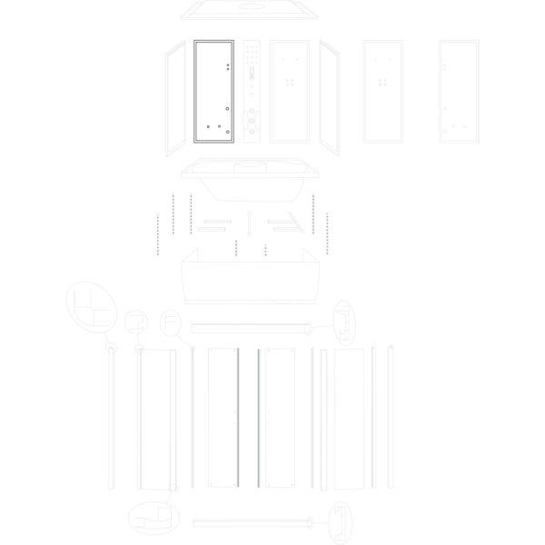 ścianka tylna lewa XL (wersja 1)