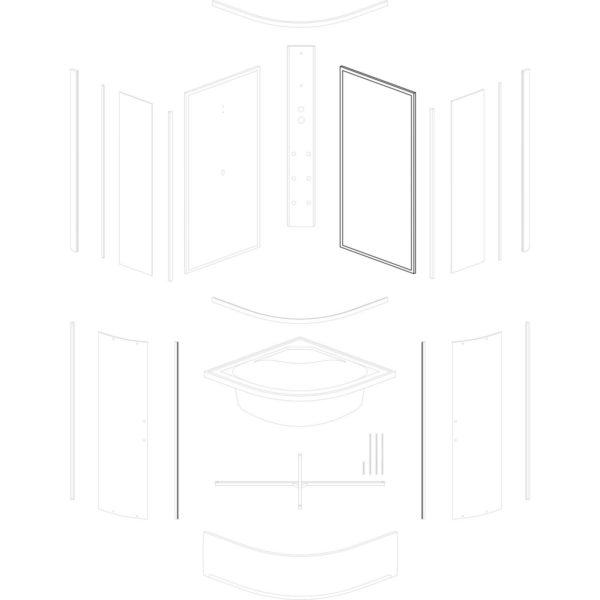 ścianka tylna prawa Kalina/Kornelia/Santos 80