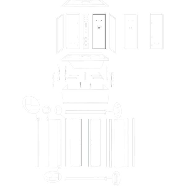 ścianka tylna prawa XL (wersja 1)