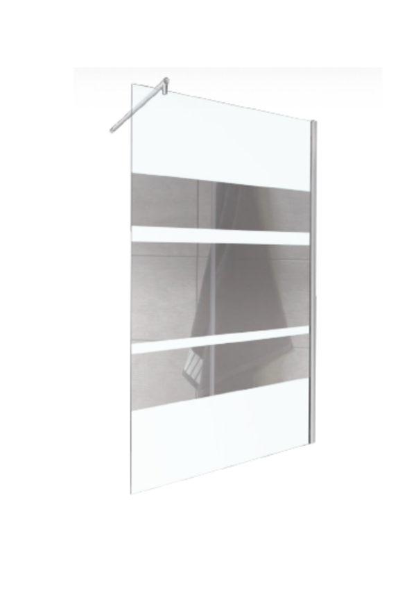 Kabina ścianka prysznicowa WALK IN Flash 120cm