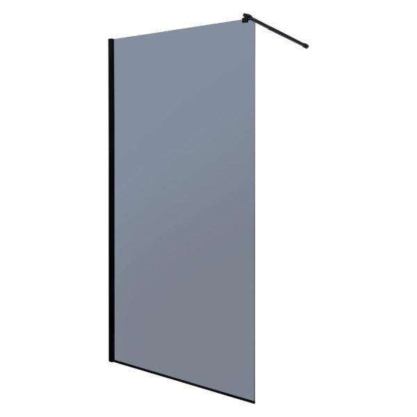 Ścianka prysznicowa Walk-in Line 100 grafitowe
