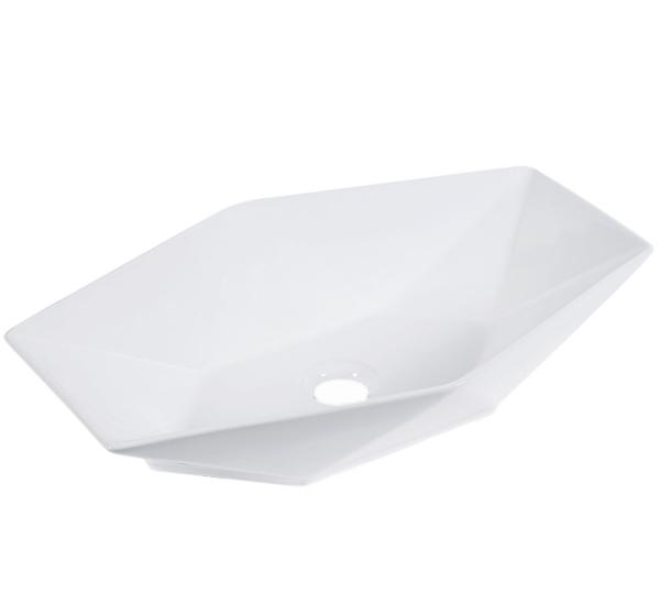 Umywalka nablatowa KR-570