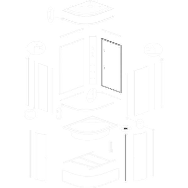 ścianka tylna prawa Jukon P