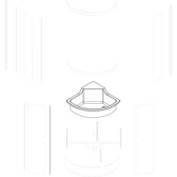 skorupa brodzika Azalia 80 - nowa wersja