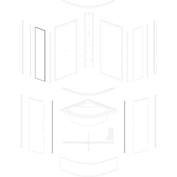 szyba przednia stała Kalina/Kornelia/Santos 80