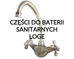 Części zamienne do baterii sanitarnych Loge