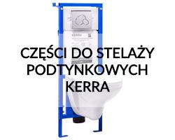 Części do stelaży podtynkowych Kerra