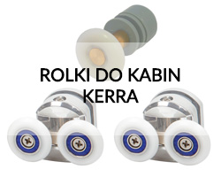 Rolki do kabin Kerra