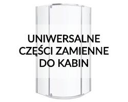 Uniwersalne części zamienne do kabin prysznicowych