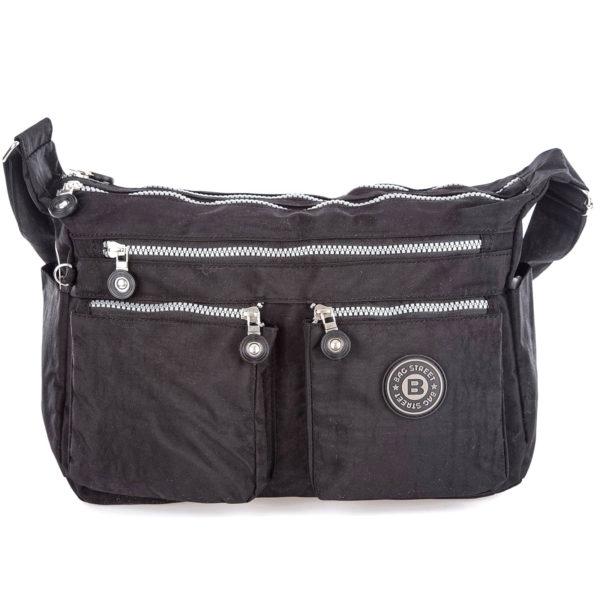 pakowna czarna torebka turystyczna Bag Street