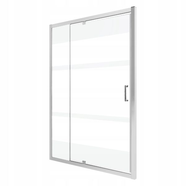 Drzwi natryskowe OPTIMO D3 140 mleczne pasy