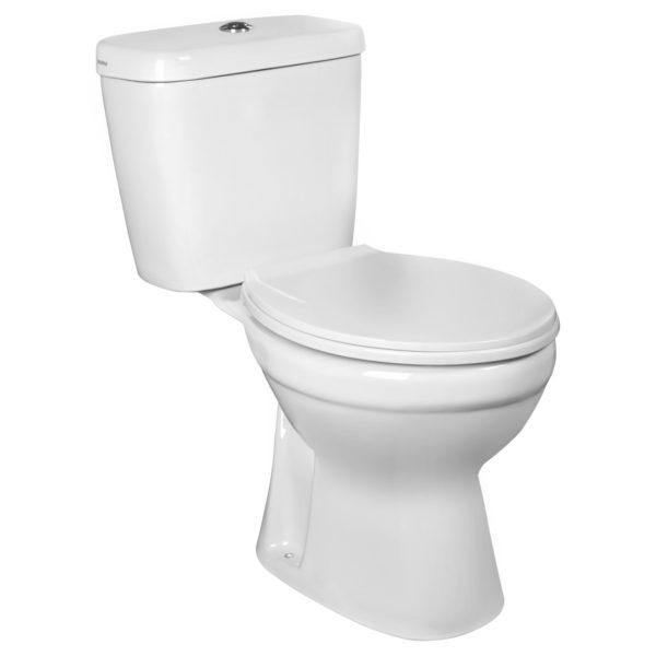 Kompakt WC z odpływem pionowym Kerra C-Clear