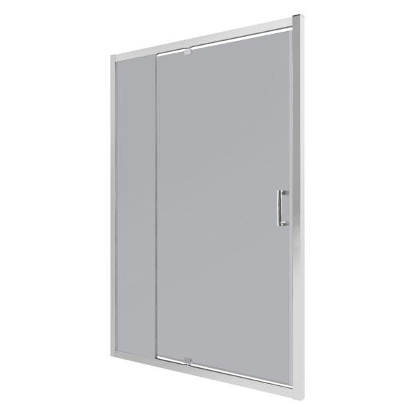 Drzwi natryskowe OPTIMO D3 140 grafitowe