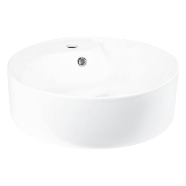 Umywalka nablatowa KR-09 (biały połysk)