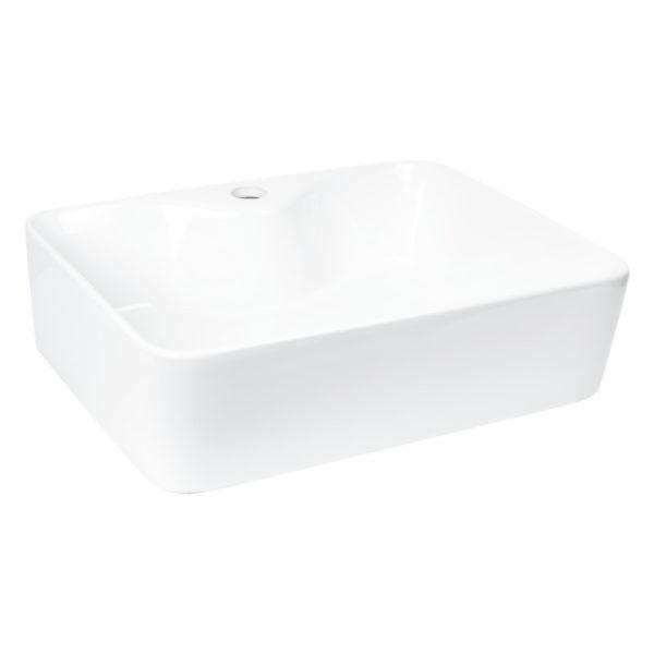 Umywalka nablatowa KR-51 (Biała w połysku)