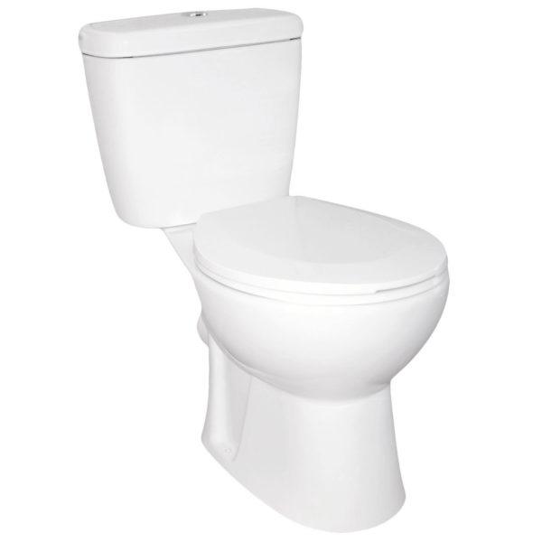 WC kompakt NIAGARA DUO bezkołnierzowy z deską