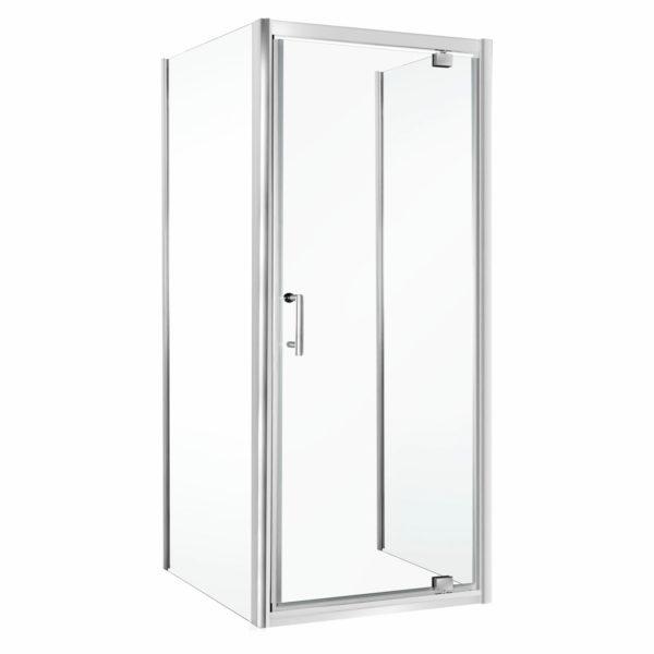 Kabina prysznicowa Unika (przyścienna) 70x80 (drzwi 70cm bez brodzika)