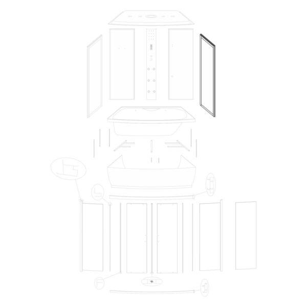 Ścianka boczna prawa Lena 150/ST