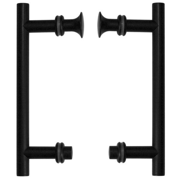 Uchwyty drzwi UK-01 BL (czarne)